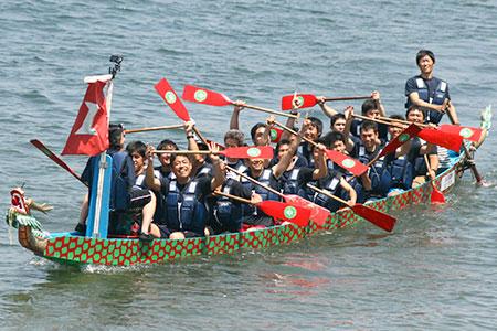 地域イベントへの参加 〜横浜開港祭「横濱ドラゴンボートレース」〜
