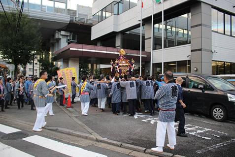 地元の秋の風物詩 「驚神社例大祭」が執り行われました