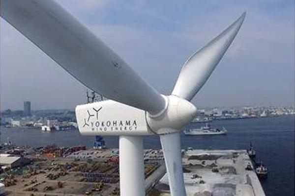 横浜市の「ハマウィング(横浜市風力発電所)」事業に協賛