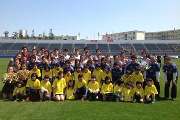 なでしこリーグに所属する女子サッカークラブ「日体大 FIELDS 横浜」を応援