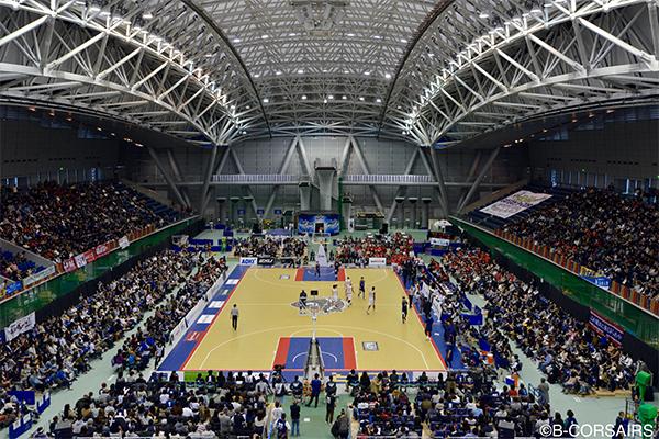 B.LEAGUE 1部に所属するプロバスケットボールチーム 「横浜ビー・コルセアーズ」をパートナーシップ企業として応援
