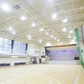 【リノベーション事業】緑ヶ丘学院女子中学校・高等学校体育館